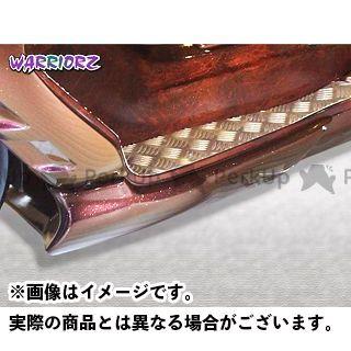ウォーリアーズ マジェスティC カウル・エアロ アンダーカウルV1 純正色塗装済/マットブラック(艶消し黒)