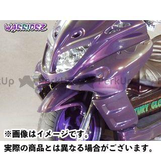 ウォーリアーズ マジェスティC サイドカウルV2 カラー:純正色塗装済/マットブラック(艶消し黒) WARRIORZ