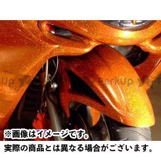 ウォーリアーズ WARRIORZ フェンダー 外装 ウォーリアーズ マジェスティC フロントフェンダー 純正色塗装済/ベリーダークオレンジ(ブラウン) WARRIORZ