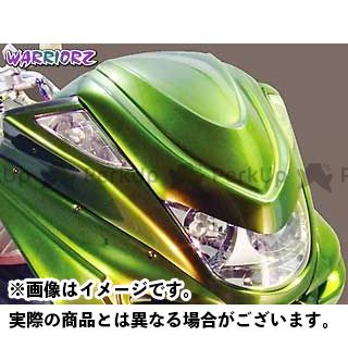 ウォーリアーズ マジェスティC V4チョップフェイス カラー:純正色塗装済/ベリーダークオレンジ(ブラウン) WARRIORZ