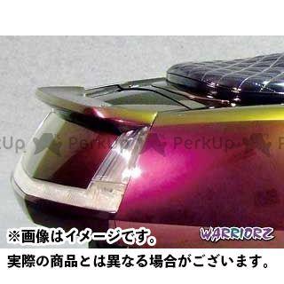 ウォーリアーズ マグザム カウル・エアロ リアスポイラーV2 純正色塗装済/ダークグリニッシュグレーメタリック3(スモークグリーン)