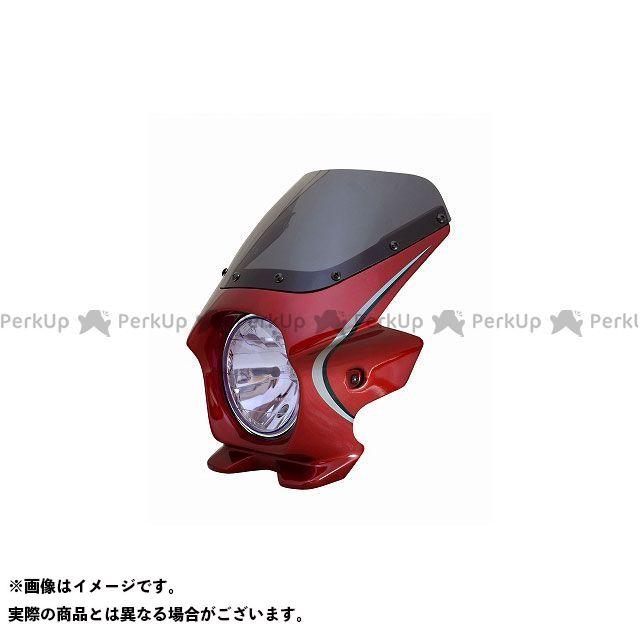 ブラスター2 CB1100EX ビキニカウル CB1100EX(14) カラー:キャンディーアリザリンレッド(ストライプ) スクリーン仕様:スタンダード BLUSTER2