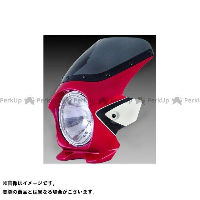 ブラスター2 CB400スーパーフォア(CB400SF) ビキニカウル CB400SF Revo(08-11) カラー:キャンディブレイジングレッド(ツートン) スクリーン仕様:エアロ BLUSTER2