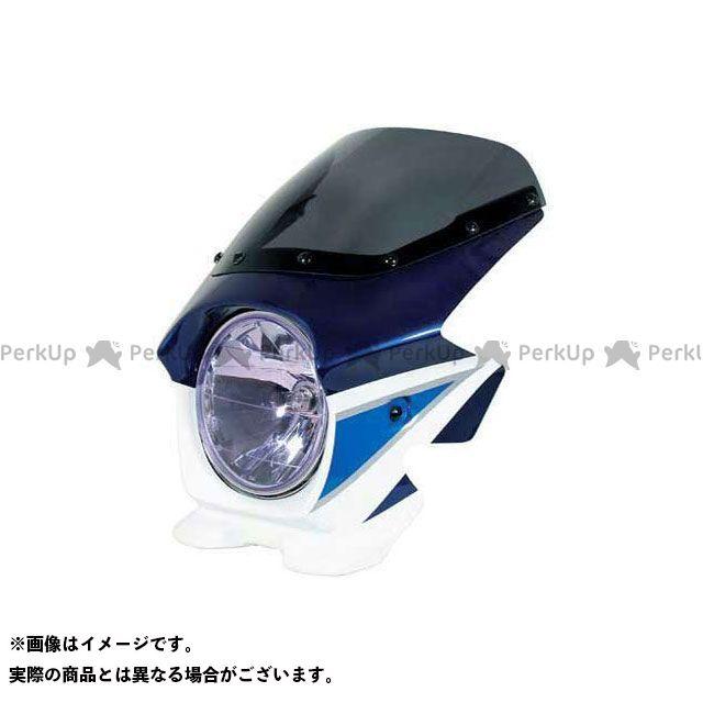 ブラスター2 GSX1400 ビキニカウル GSX1400(03-04) カラー:スズキディープブルーNO.2/グラススプラッシュホワイト スクリーン仕様:スタンダード BLUSTER2
