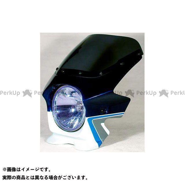 ブラスター2 GSX1400 ビキニカウル GSX1400(06) カラー:パールスズキディープブルーNO.2/グラススプラッシュホワイト スクリーン仕様:スタンダード BLUSTER2