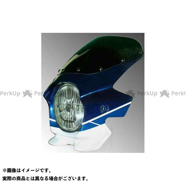 ブラスター2 GSX1400 ビキニカウル GSX1400(07-08) カラー:パールスズキディープブルーNO.2/グラススプラッシュホワイト スクリーン仕様:スタンダード BLUSTER2
