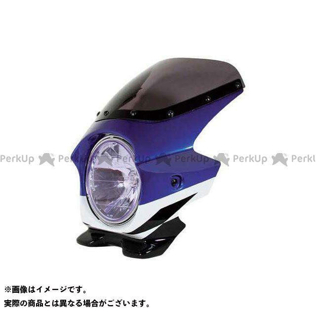 ブラスター2 XJR1300 ビキニカウル XJR1300(02) カラー:ディープパープリッシュブルーメタリックC(ストロボ) スクリーン仕様:スタンダード BLUSTER2