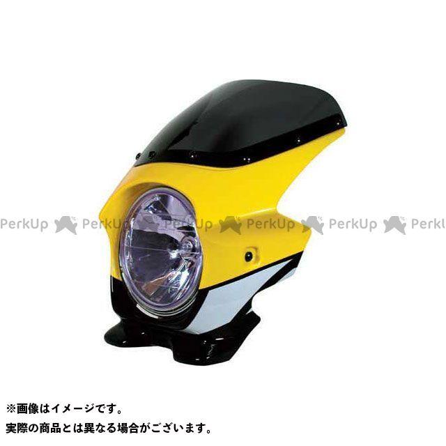 ブラスター2 XJR1300 ビキニカウル XJR1300(03) カラー:レディッシュイエローカクテル1(ストロボ) スクリーン仕様:エアロ BLUSTER2