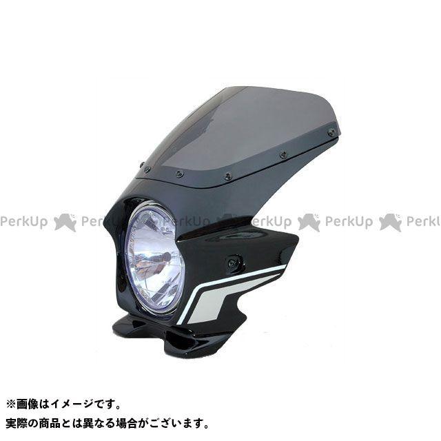 ブラスター2 XJR1300 ビキニカウル XJR1300(11~) カラー:ブラックメタリックX(ストライプ) スクリーン仕様:スタンダード BLUSTER2