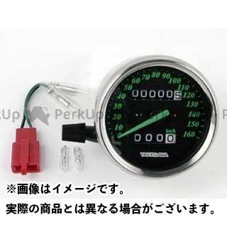 SP武川 エイプ100 エイプ50 スピードメーター ブラック&グリーンスピードメーター