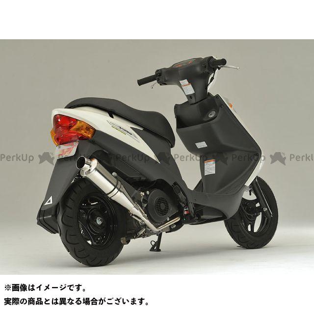 SPI アドレスV125G テンペスト Type-RB 仕様:SPIエンブレム無し オプション:サイレント仕様+キャタライザーあり エスピーアイ