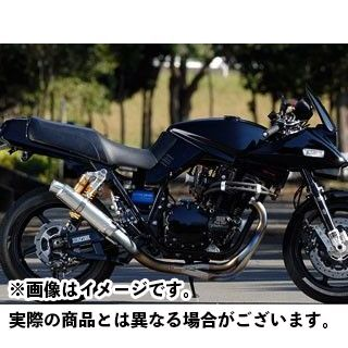 ナイトロレーシング GSX1100Sカタナ 4in1 手曲げチタンEXマフラー UPタイプ アルミサイレンサー φ90/320mm NITRO RACING