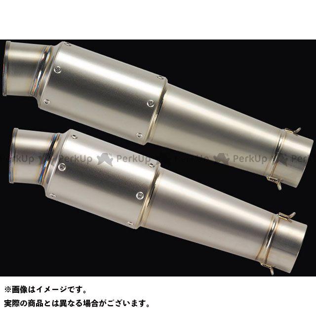 ナイトロレーシング 汎用 グレネードチタンサイレンサー V-1 300mm 仕様:ハーフポリッシュ NITRO RACING
