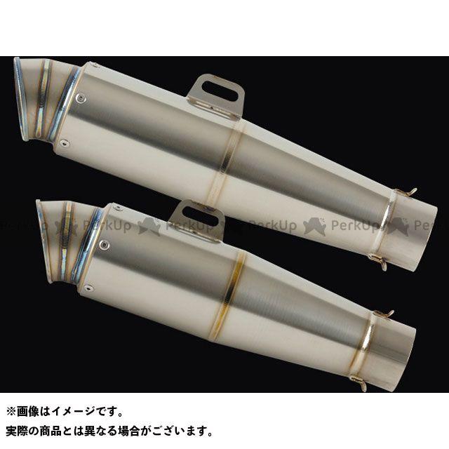ナイトロレーシング 汎用 コニカルチタンサイレンサー V-2 仕様:ハーフポリッシュ サイレンサーサイズ:φ90/300mm NITRO RACING