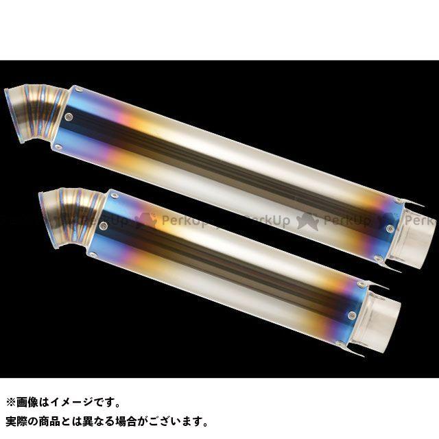 【無料雑誌付き】ナイトロレーシング 汎用 ストレイトチタンサイレンサー V-3 仕様:ヒートポリッシュ サイレンサーサイズ:φ85/420mm NITRO RACING