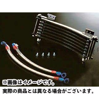 ナイトロレーシング GPZ750R ニンジャ900 オイルクーラー オイルクーラー LOWマウントキット ブラック