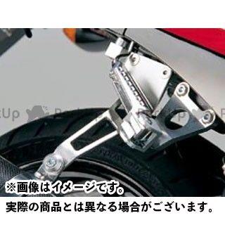 ナイトロレーシング GPZ750R ニンジャ900 マフラーステー・バンド STDマフラーステーキット(シルバー)