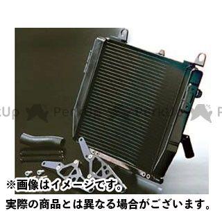 送料無料 ナイトロレーシング GPZ750R ニンジャ900 ラジエター ワイドラジエータキット ブラック