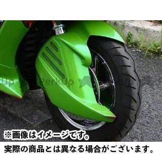 コタニ フォルツァX フォルツァZ FORZA(MF10)用牙フェンダー 純正塗装済(シルバー) Ztype KOTANI MOTORS