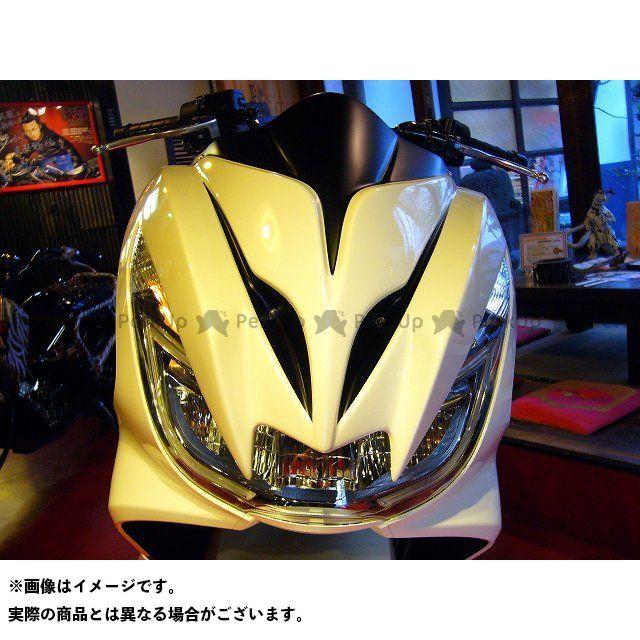 コタニ PCX125 PCX150 カウル・エアロ 新型PCX用デビルマスク サイバーS ver. ホワイト×MADブラック