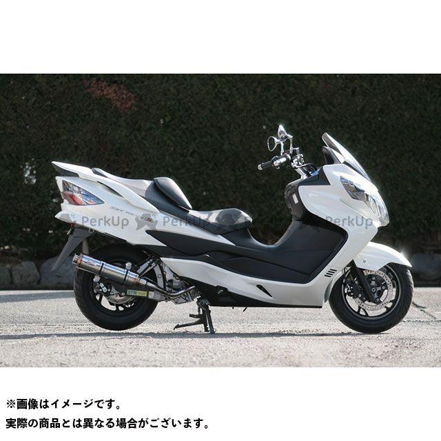 【無料雑誌付き】RPM 80D-RAPTOR スリップオンマフラー サイレンサーカバー:ステンレス アールピーエム