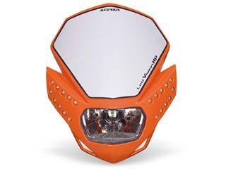 送料無料 アチェルビス 汎用 ヘッドライト・バルブ LEDビジョンHPヘッドライト オレンジ