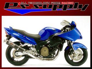 送料無料 ピーズサプライ CBR1100XXスーパーブラックバード マフラー本体 A-MAX 4-2-1スタイル CBR1100XX チタン