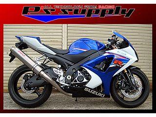 送料無料 ピーズサプライ GSX-R1000 マフラー本体 A-MAX スリップオン GSX-R1000 チタン