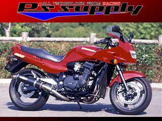 送料無料 ピーズサプライ GPZ1100 マフラー本体 A-MAX 4-1スタイル GPZ1100 チタン