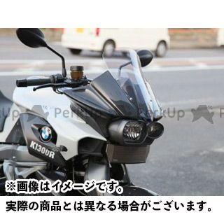 ササキスポーツ K1300R カウル・エアロ フロントハーフカウル(FRP黒ゲルコート) ロースクリーン