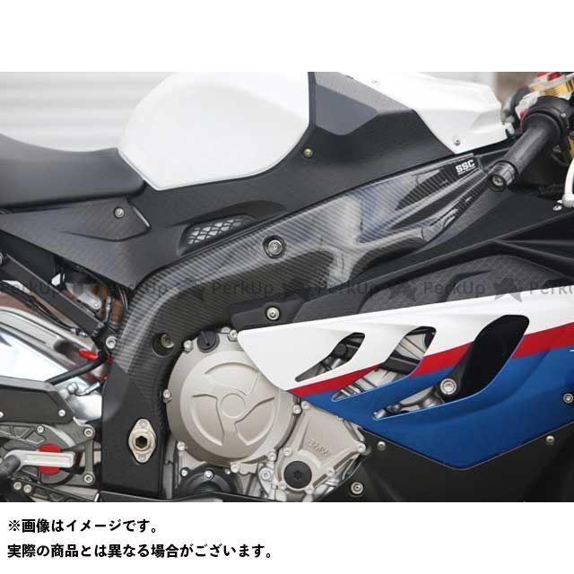 ササキスポーツ HP4 S1000RR フレームヒートガード・LRセット(ドライカーボン) 仕様:ロング ササキスポーツクラブ