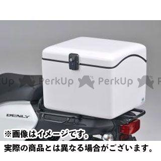 送料無料 JMS ギア ツーリング用ボックス NEWラゲージBOX M(B-27) 白