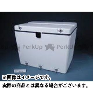 送料無料 JMS 汎用 ツーリング用ボックス B-18SL エキスプレスD BOX セキュリティ仕様 白