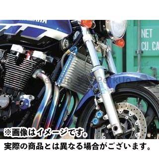 【エントリーで更にP5倍】プロト XJR1200 XJR1300 ラウンドオイルクーラーキット(上出し) 13段#6 カラー:シルバー PLOT