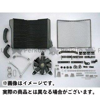 プロト ZRX1100 ZRX1200R ラウンドラジエータキット(ストリート) カラー:ガンメタ PLOT