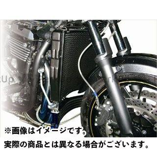 プロト ZRX1200ダエグ ラウンドラジエター ボルトオンストリート レーシング カラー:シルバー PLOT
