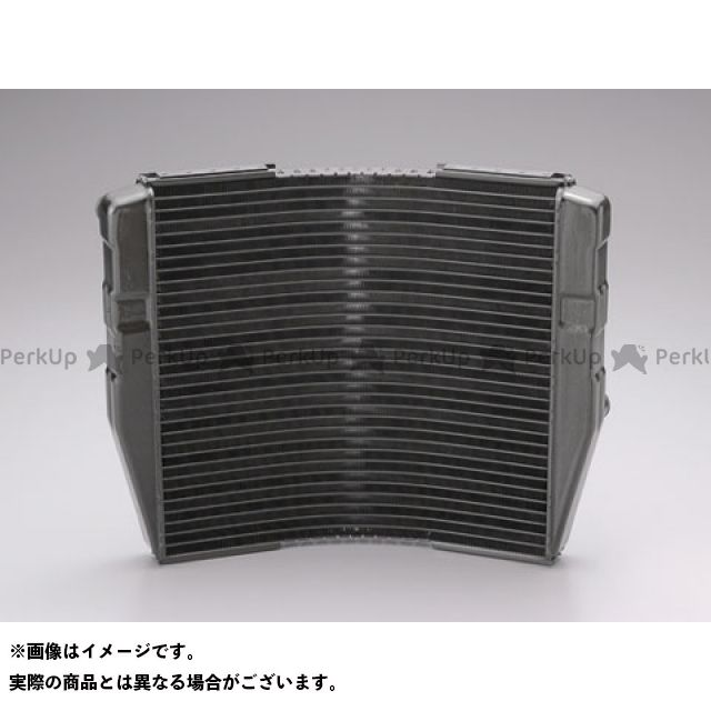 送料無料 プロト 汎用 ラジエター ラウンドラジエーター レーシング(340×24×318mm) ガンメタ