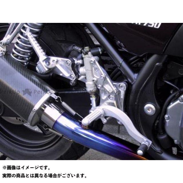 【エントリーで更にP5倍】BEET ゼファー750 ゼファー750RS ハイパーバンク 固定式(シルバー) ビートジャパン