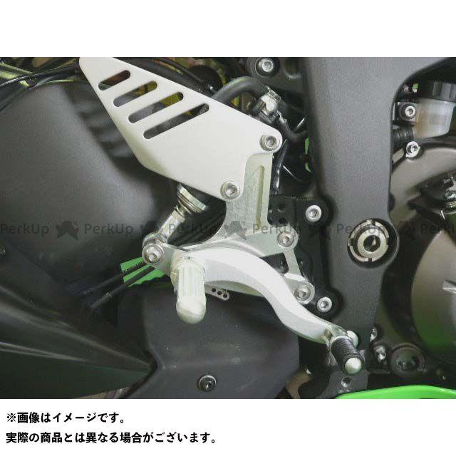 BEET ニンジャZX-6R バックステップ関連パーツ ハイパーバンク 固定式(シルバー)