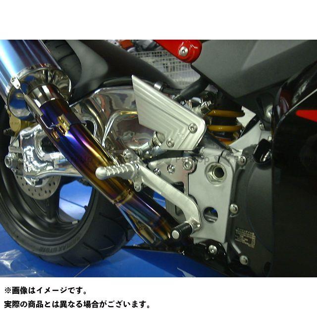 BEET CBR900RRファイヤーブレード CBR929RRファイヤーブレード CBR954RRファイヤーブレード バックステップ関連パーツ ハイパーバンク 固定式(シルバー)