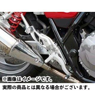 【エントリーで更にP5倍】BEET CB400スーパーボルドール CB400スーパーフォア(CB400SF) ハイパーバンク 可倒式(シルバー) ビートジャパン