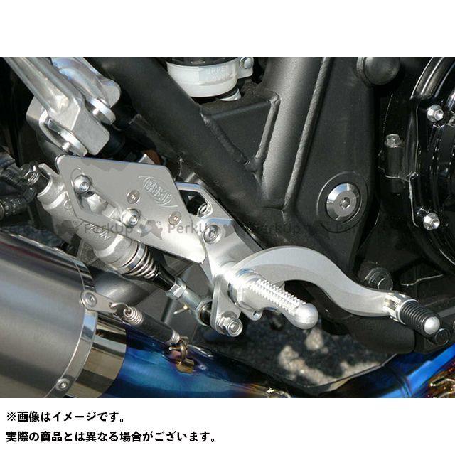 BEET ビートジャパン バックステップ関連パーツ ハイパーバンク 可倒式(シルバー)