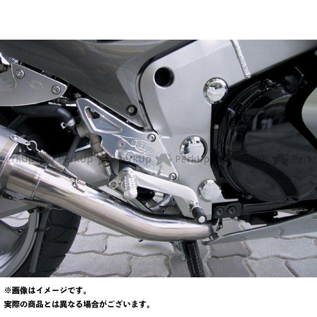 BEET ZZR1200 バックステップ関連パーツ ハイパーバンク 可倒式(シルバー)