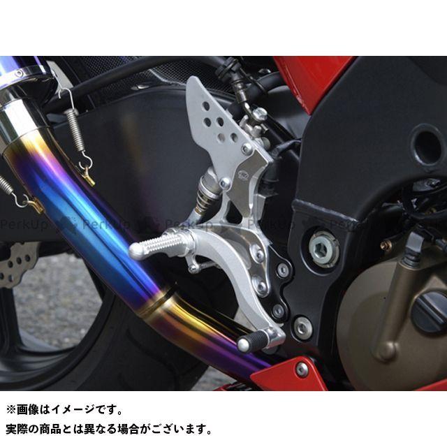 BEET ニンジャZX-10R バックステップ関連パーツ ハイパーバンク 可倒式(シルバー) 04-05年用