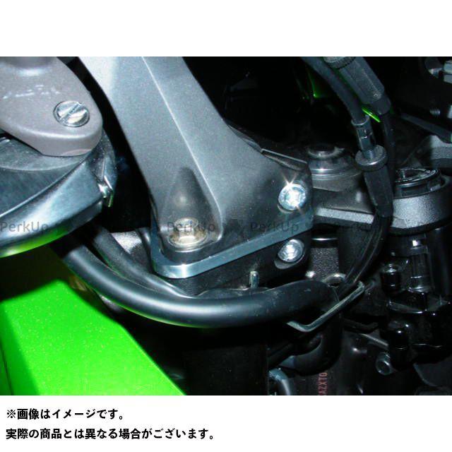 BEET ニンジャ1000・Z1000SX ハンドルアップスペーサー 12mmUP ブラック