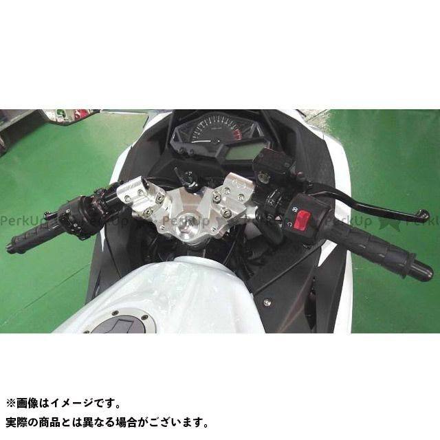 BEET ニンジャ250 ニンジャ250R レーシングハンドルキット カラー:シルバー ビートジャパン