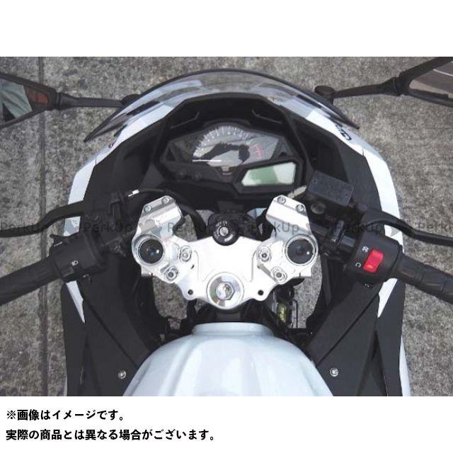 BEET ビートジャパン ハンドル関連パーツ ハンドル BEET ニンジャ250 ニンジャ250R レーシングハンドルキット TYPE2 シルバー ビートジャパン