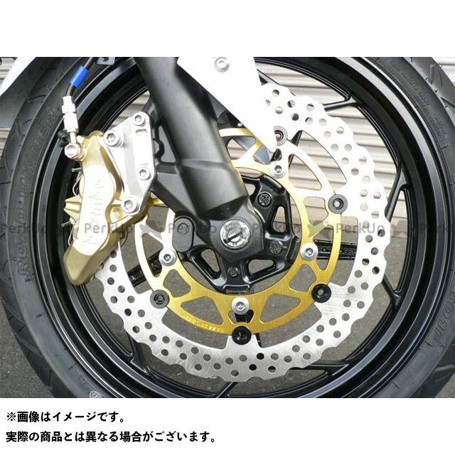 BEET ニンジャ250 ブレーキキット ブレンボ65mmピッチ用 ビッグローターキット(キャリパー無し)