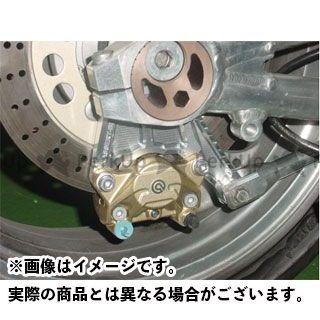 BEET ZRX1100 ZRX1200ダエグ ZRX1200R リア Brembo ブレーキキャリパーセット カラー:ゴールド ビートジャパン