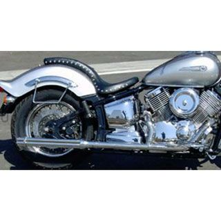 アメリカンドリームス ドラッグスター1100(DS11) ドラッグスタークラシック1100(DSC11) マフラー本体 2in1 ショートガトリングマフラー